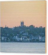 Near Easton Point - New Port Rhode Island Wood Print