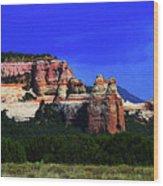 Near El  Morro National Monument Wood Print
