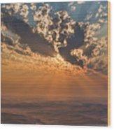 Near Sunset Wood Print
