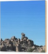 Near Wickenburg, Az Wood Print