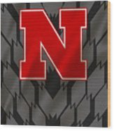 Nebraska Cornhuskers Uniform Wood Print