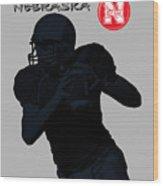 Nebraska Football Wood Print