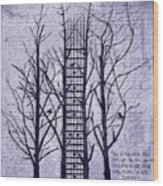 Neck Of The Woods II  Wood Print