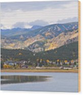 Nederland Colorado Scenic Autumn View Boulder County Wood Print