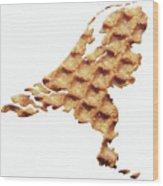 Nederland Stroopwafelland Wood Print