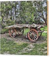 Need Horsepower Wood Print