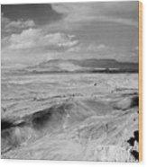 Neghev Desert Rainbow 1 Wood Print