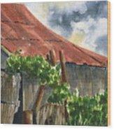Neighbor Don's Old Barn Wood Print