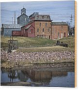Neligh Mill Wood Print