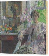 Nellie Kabel Wood Print