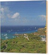 Nelson's Dockyard Antigua Wood Print