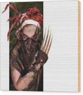 Neobedouin - Beast Dancer Wood Print by Mandem