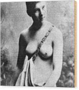 Neoclassical Nude Wood Print