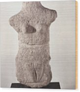 Neolithic Figure Wood Print