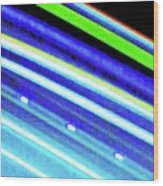 Neon 107c Wood Print