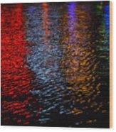 Neon Nites Wood Print