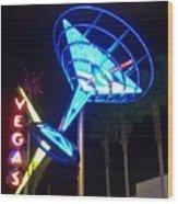 Neon Signs 1 Wood Print
