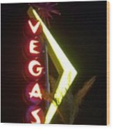 Neon Signs 2 Wood Print