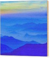 Nepal Sunrise Wood Print