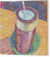Nepalese Tongba, Jaand Or Millet Beer, Kathmandu, Nepal Wood Print