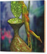 Nepenthes Pixi 1 Wood Print