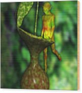 Nepenthes Pixi 2 Wood Print