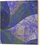 Neptune Illuminations Wood Print