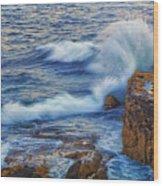 Neptune's Embrace Wood Print