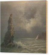 Neptune's Finger Wood Print