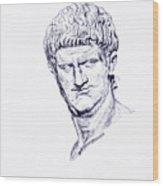 Nero Roman Emperor Series Ancient Rome Wood Print