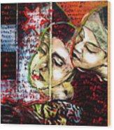 Neruda Love Poem Wood Print