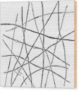Nerve Fibres, Von Kolliker, 1852 Wood Print