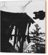 Nessie Wood Print