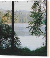 Nestling Lake Wood Print