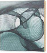 Net Design Wood Print