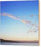 Net Fishing Sea Of Galilee Wood Print