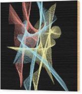 Net Fusion Wood Print