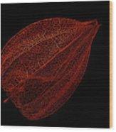 Net Wood Print