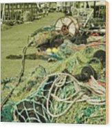 Nets N Ropes  Wood Print