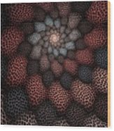 Netted Petals Wood Print