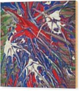 Neuronal Dendrites  Wood Print