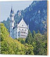 Neuschwanstein Castle 1 Wood Print