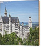 Neuschwanstein Castle Of Germany Wood Print