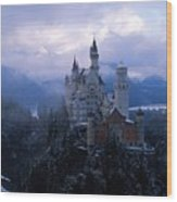 Neuschwanstein Wood Print