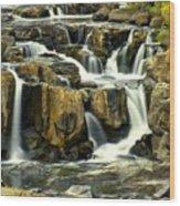 Nevada Falls Wood Print