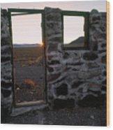 Nevada Pioneer History Wood Print