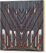 New Architectural Designs Wood Print