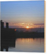 New Beginnings - Keystone Sunrise Sr 1003 Wood Print