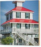 New Canal Lighthouse - Nola Wood Print