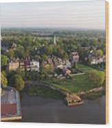 New Castle, Delaware Wood Print